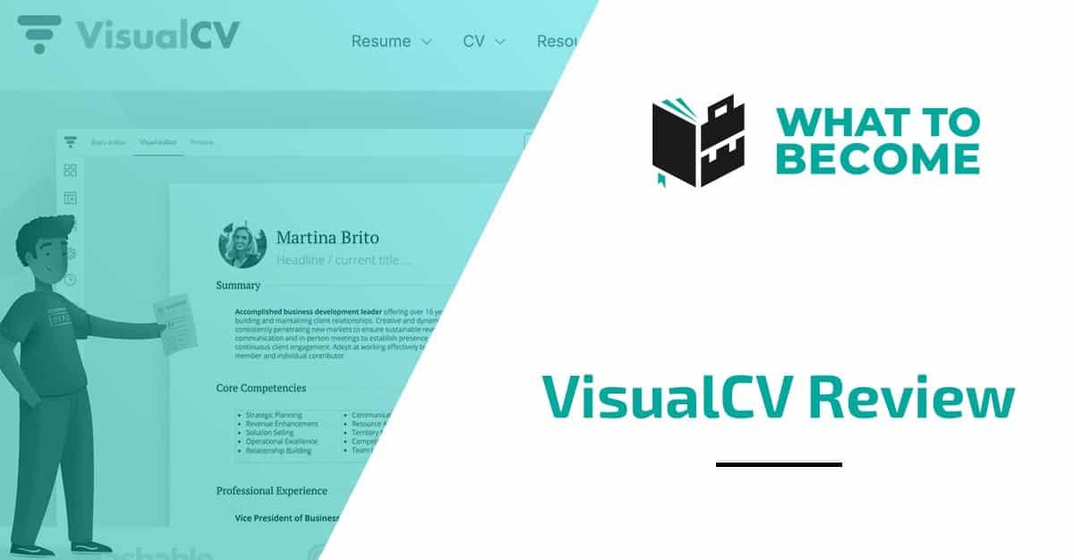 VisualCV Review