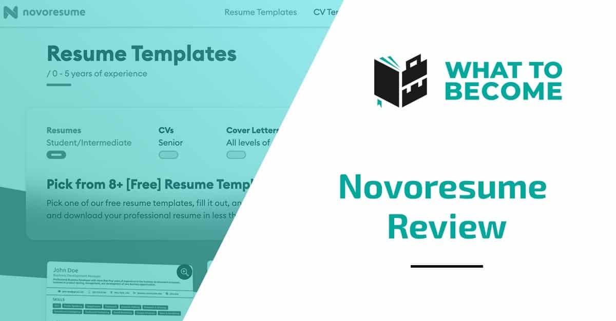 Novoresume Review