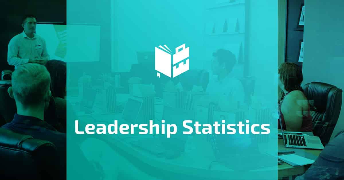 36 Intriguing Leadership Statistics